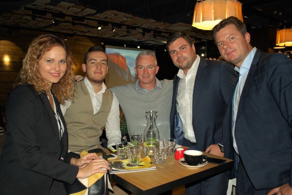Our team with Kenneth Ryan, the project founder and managing partner at KPMG Slovakia.